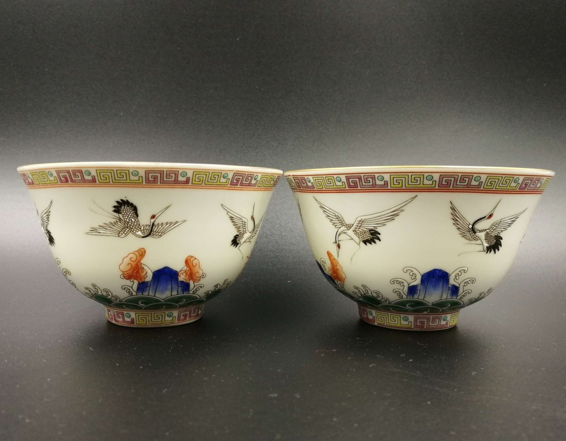 An Antique Chinese Famiile Rose Porcelain Bowl - 5