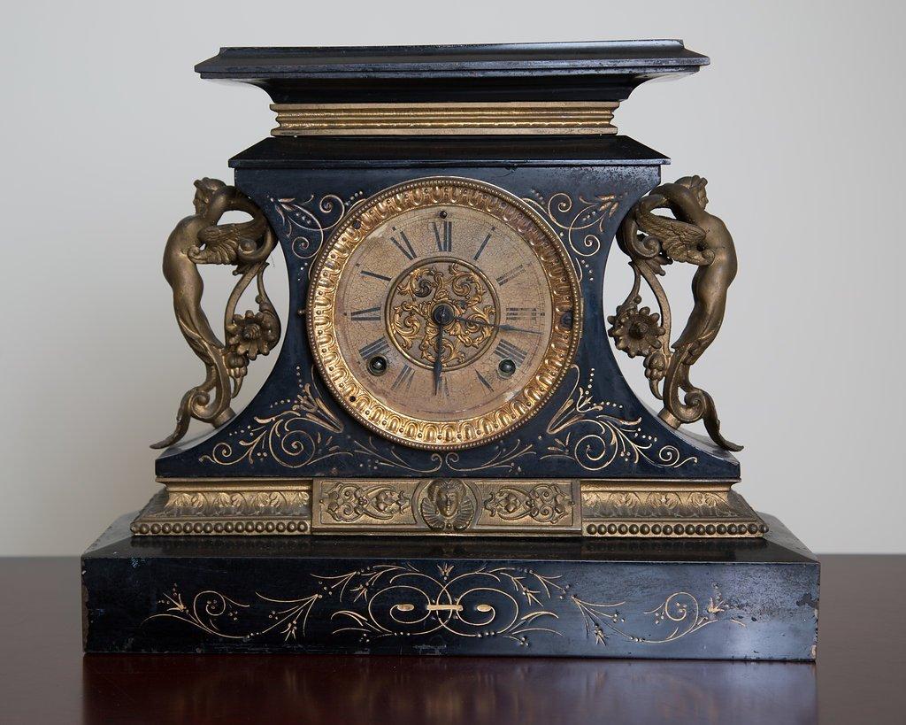 Antique Ansonia  Rosalind Mantle Clock