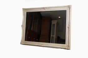 Large Cream Mirror