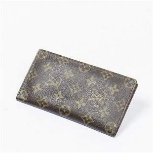 Louis Vuitton Bifold Check Holder 6 Card Slot