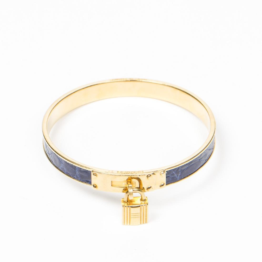 Hermes Kelly Lock Bangle