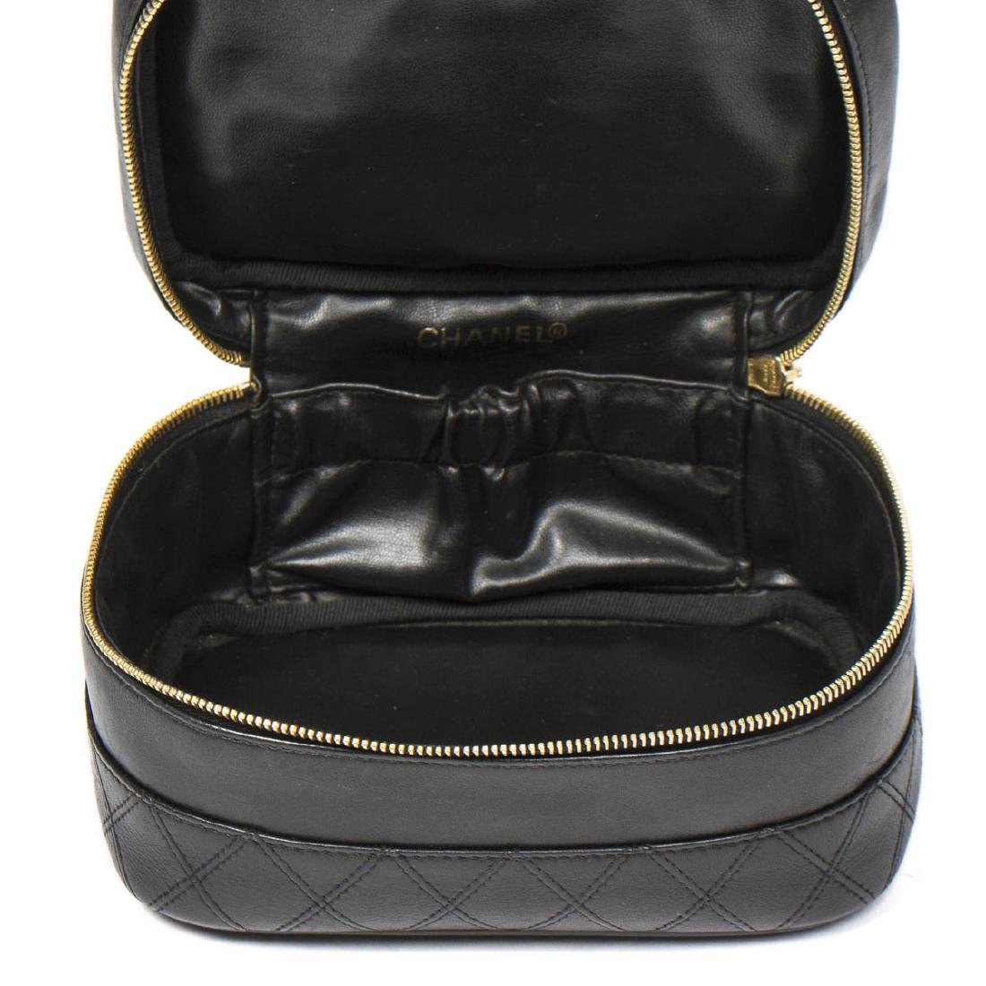 CHANEL Rectangular Cosmetic Case Quilted Base - 7