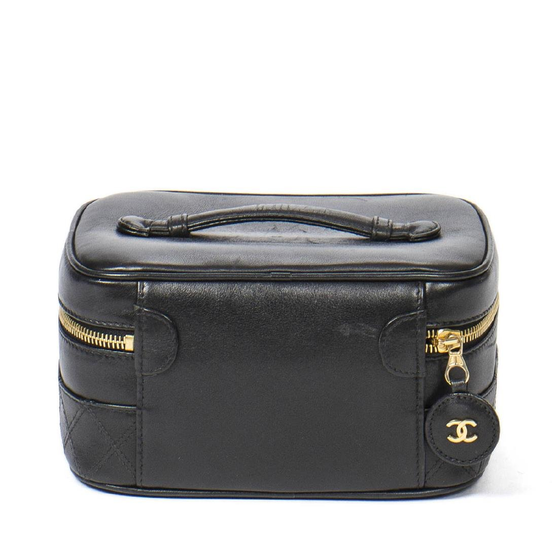 CHANEL Rectangular Cosmetic Case Quilted Base - 5