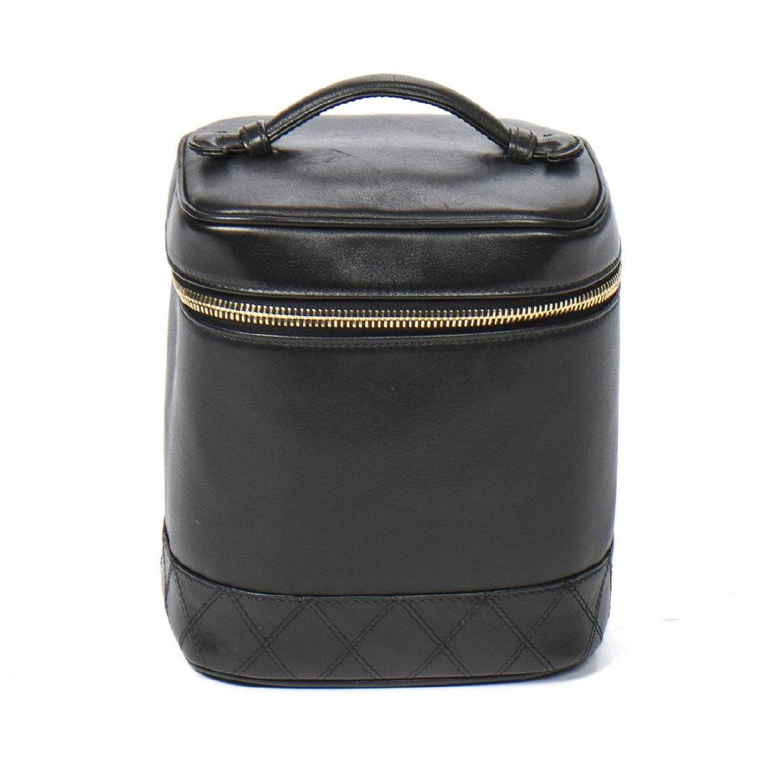 CHANEL Cosmetic Case Quilted Base