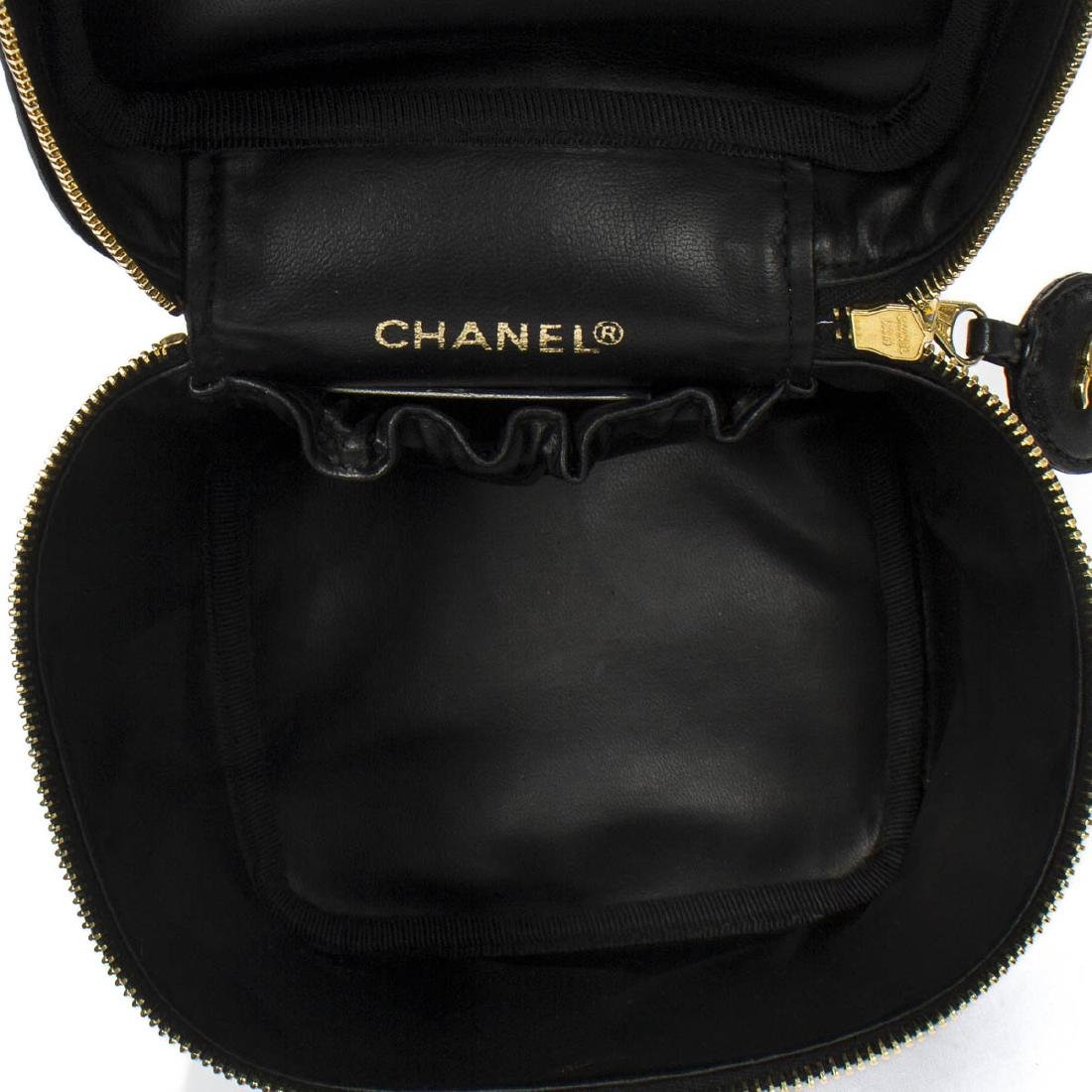 CHANEL Cosmetic Case Quilted Base - 7