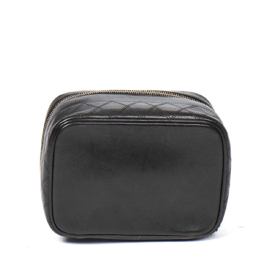 CHANEL Rectangular Cosmetic Case Quilted Base - 6