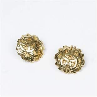 Chanel Clip Earrings Earrings