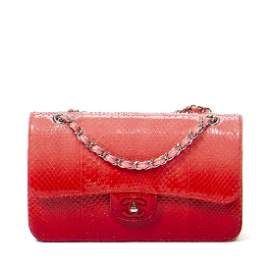 CHANEL Special Edition Double Flap Bag in Pink/Red