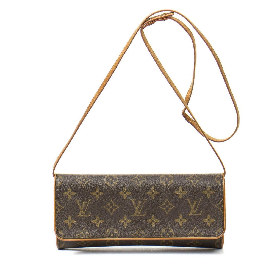 Louis Vuitton Twin GM in Brown Monogram Canvas