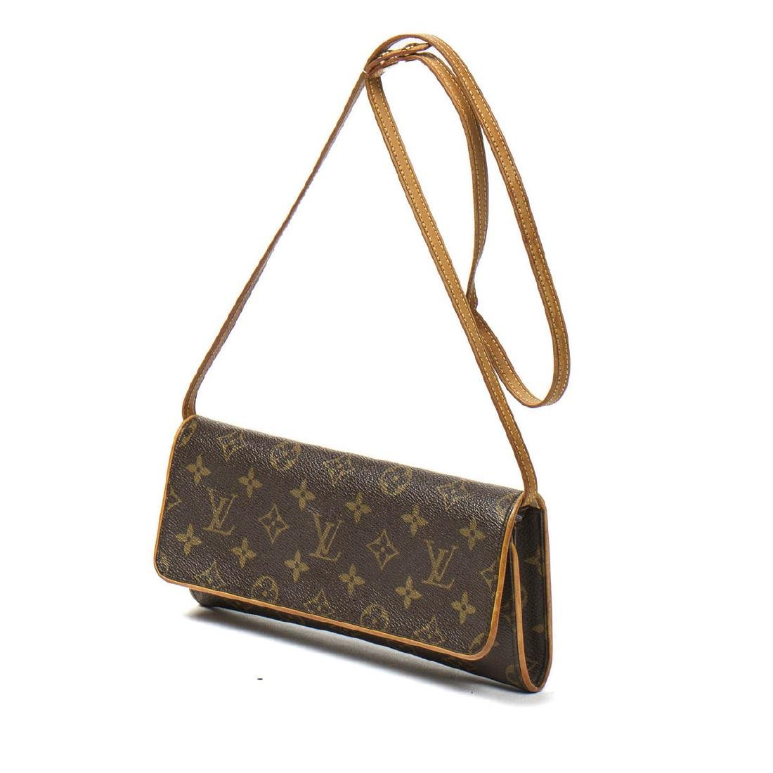 Louis Vuitton Twin GM in Brown Monogram Canvas - 2