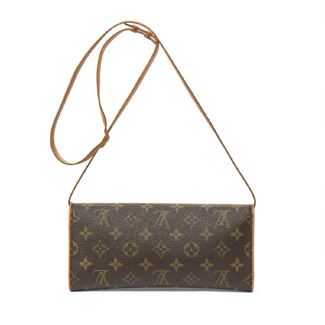 Louis Vuitton Twin GM in Brown Monogram Canvas - 5