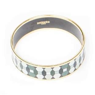 Hermes Enamel Bracelet MM