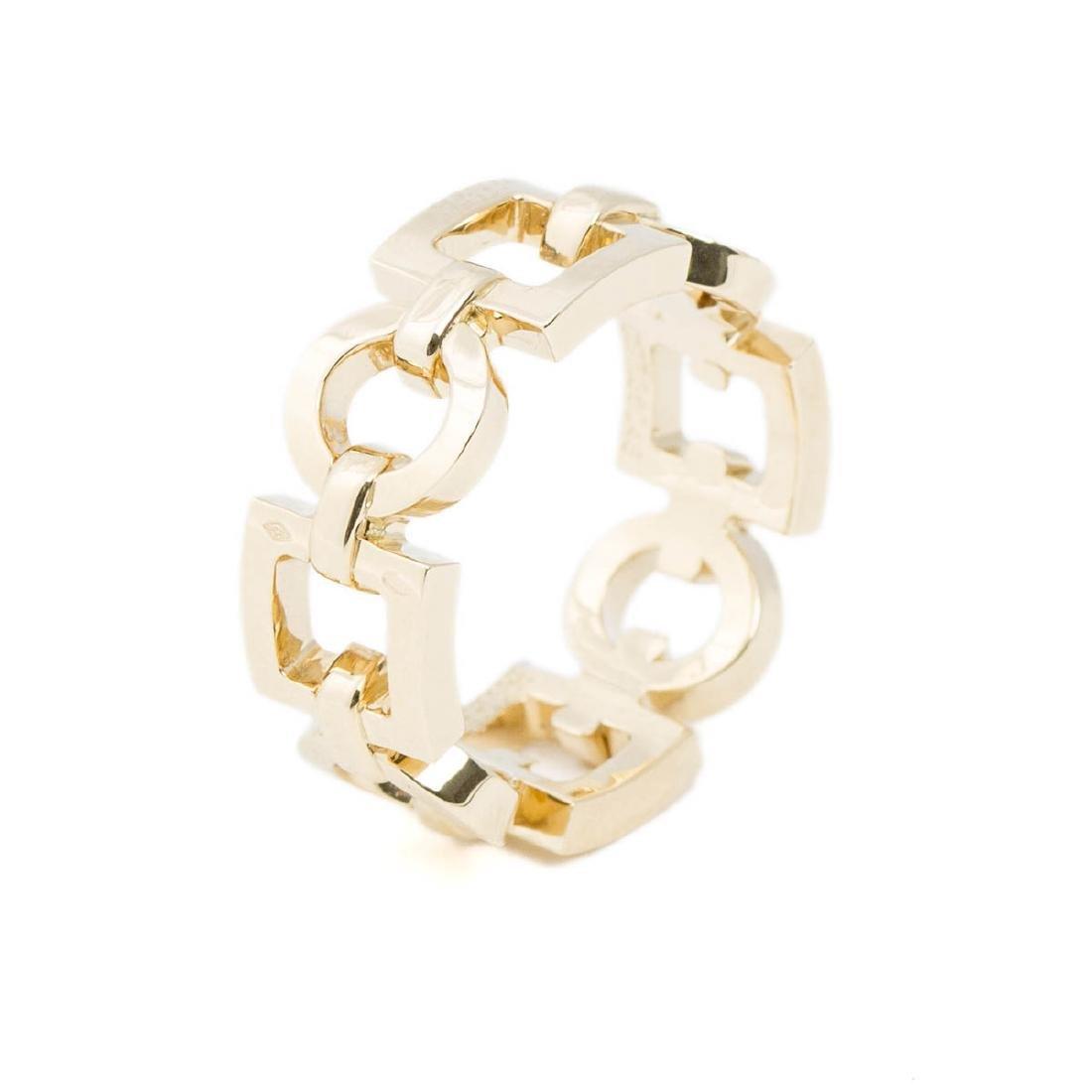 Boucheron Square and Circle Chain Ring