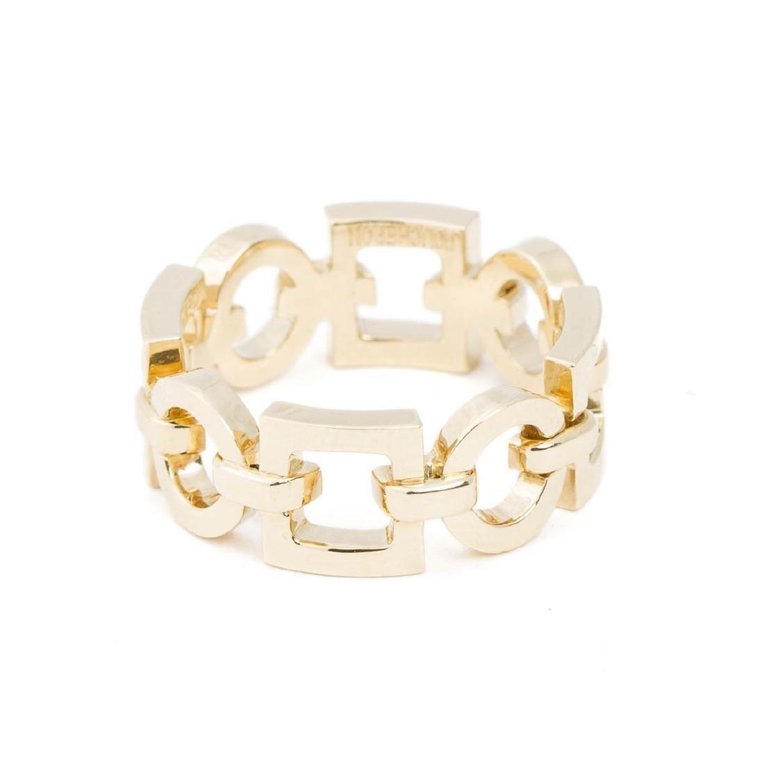 Boucheron Square and Circle Chain Ring - 2