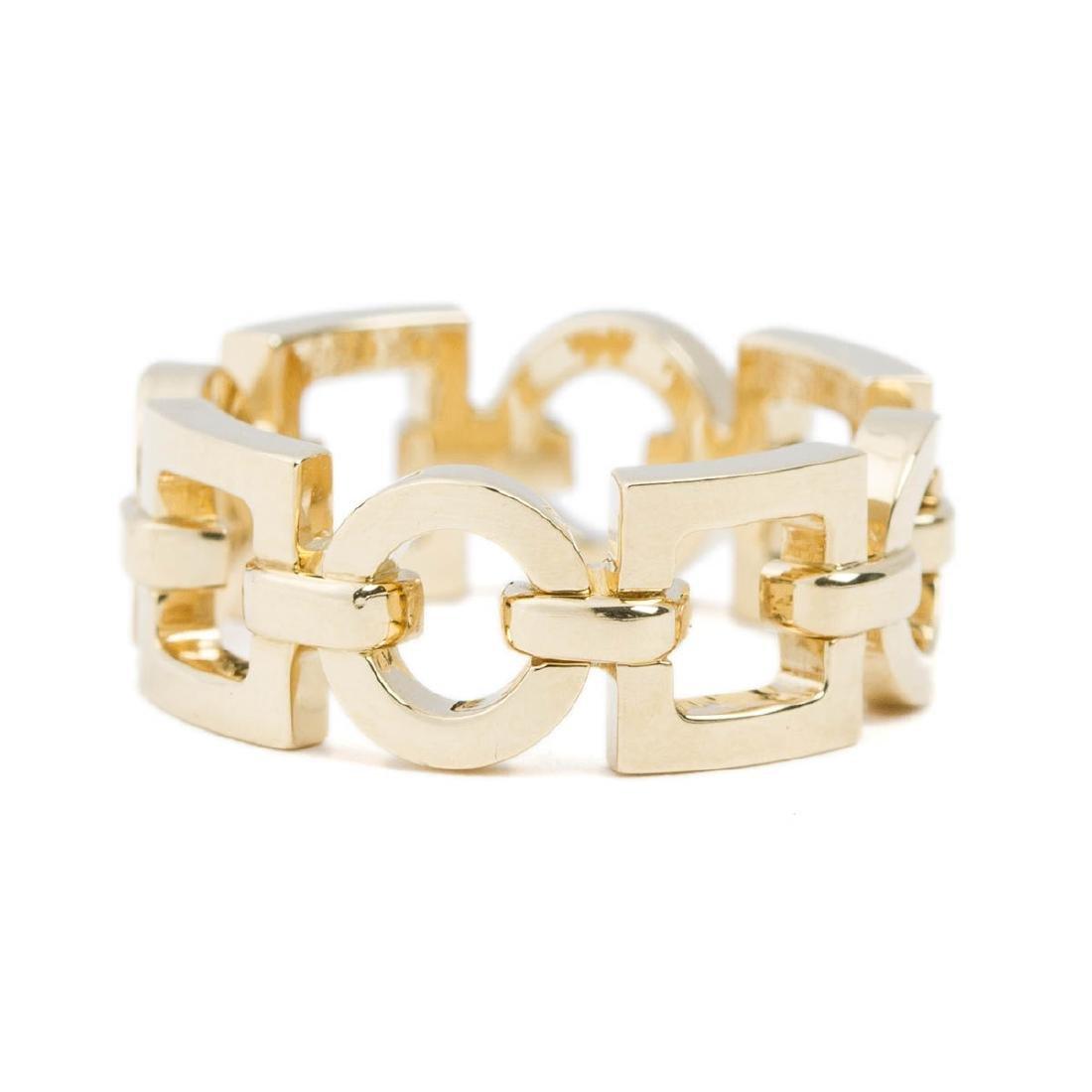 Boucheron Square and Circle Chain Ring - 4