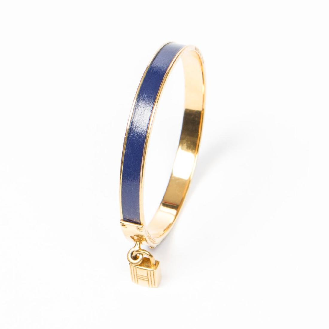 Hermes Kelly Lock Bangle - 3
