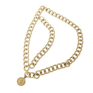 Chanel Stainless Steel without Nickel Chain Belt