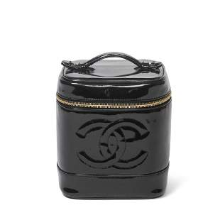 Chanel Calf Leather Cosmetic Case