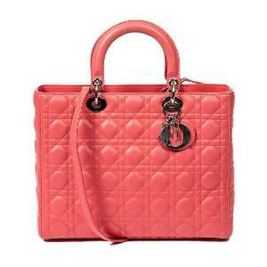Dior Calf Leather Lady GM