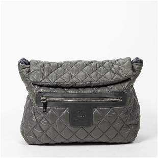 Chanel Large Quilted Canvas Cocoon Backpack