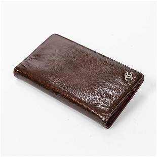 Chanel Small Grained Leather Bifold Wallet