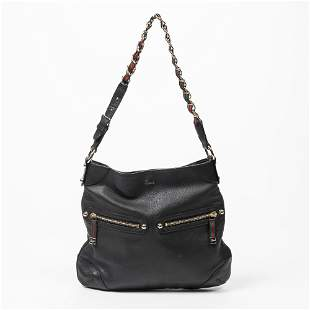 Gucci Small Grained Leather Princy Chain Hobo