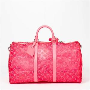 Louis Vuitton Monogram Mesh Keepall Bandouliere