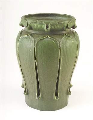 GRUEBY Exceptional Kendrick vase by Wilhemina Post,