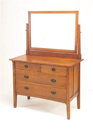STICKLEY BROTHERS Dresser with two small drawers o