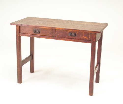 517: L & J.G. STICKLEY Two-drawer console table. Origin