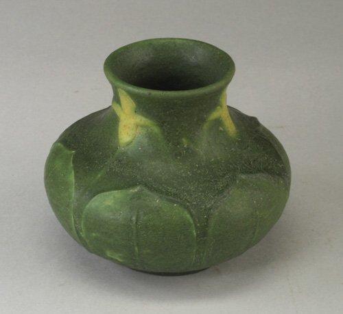 19: Fine GRUEBY squat vase by Wilhemina Post,