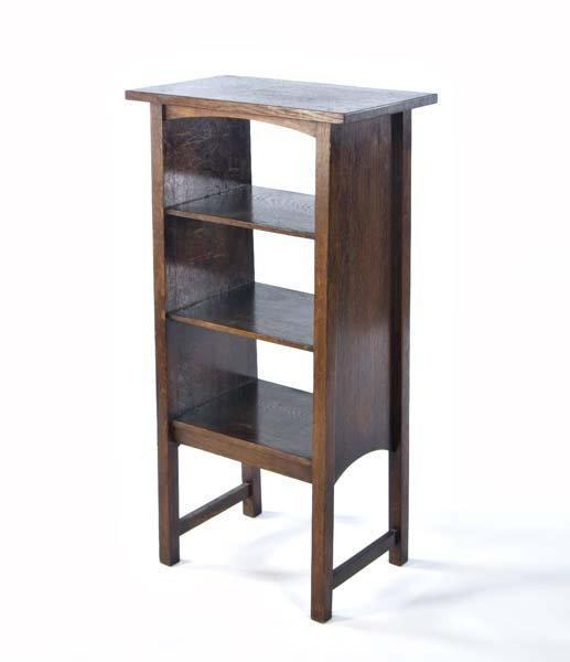 502: GUSTAV STICKLEY Magazine stand (no. 72) with arche