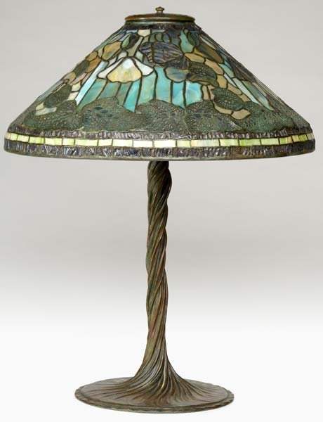 1: TIFFANY STUDIOS Exceptional table lamp