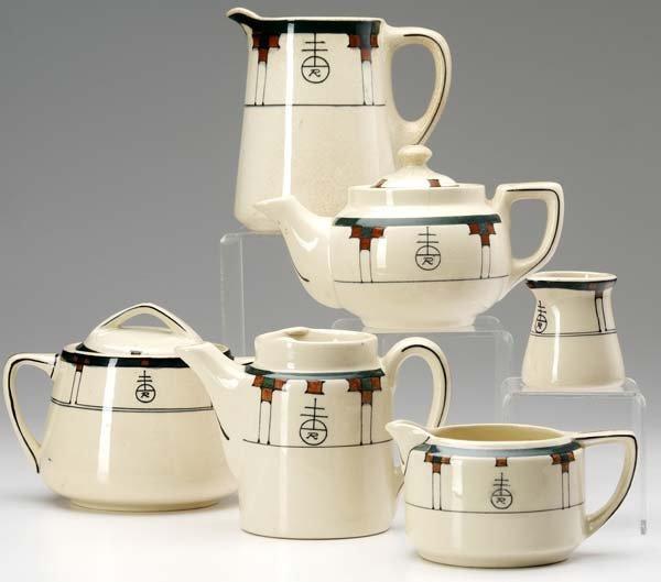 522: ROYCROFT Six tea and coffee items