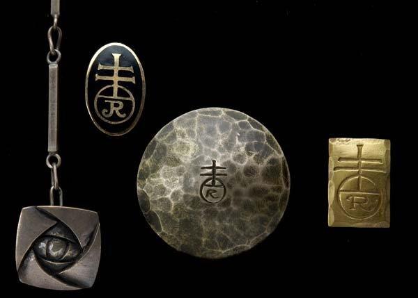523: ROYCROFT Four pieces of jewelry