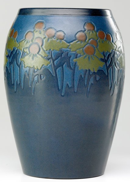 1: MARBLEHEAD Exceptional vase  by Arthur Baggs