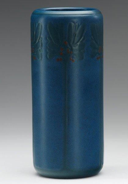 5: MARBLEHEAD Cylindrical vase
