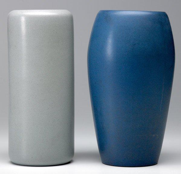 9: MARBLEHEAD Two vases