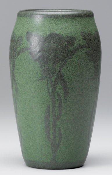 13: MARBLEHEAD Early ovoid vase