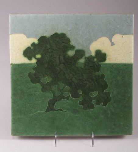 1: Exceptional, extremely rare GRUEBY tile de