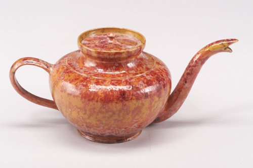 2: Exceptional and large GEORGE OHR teapot wi