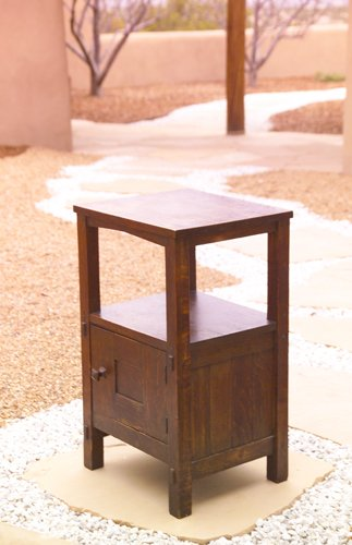 3: GUSTAV STICKLEY Early somno cabinet with square top
