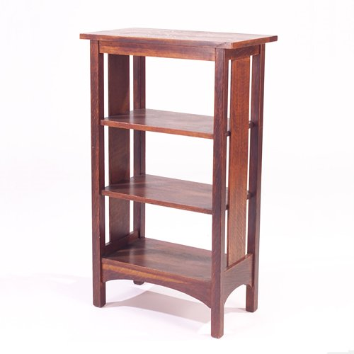 507: L. & J.G. STICKLEY Magazine stand with overhanging