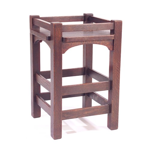 742: STICKLEY BROTHERS Plant stand with square top and