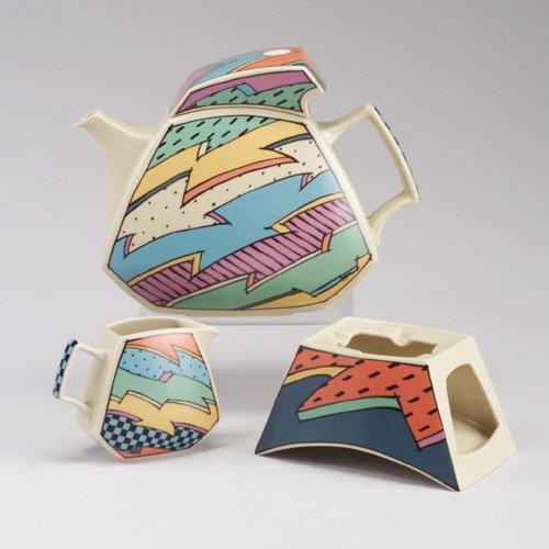1021: ROSENTHAL ³Flash² lidded teapot with bu