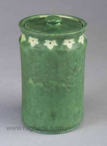 5: Exceptional and rare GRUEBY tall cylindric