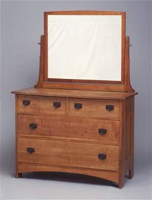 490: L. & J.G. STICKLEY four-drawer dresser (