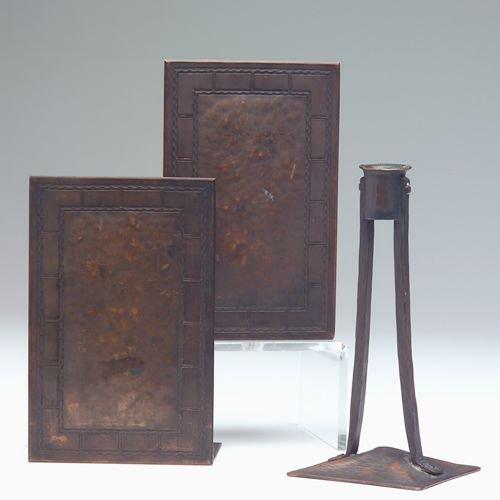 817A: KARL KIPP/WILLIAM JENNINGS Three hammered copper