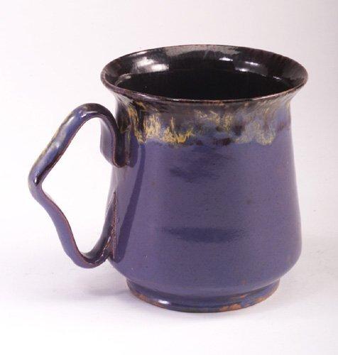 6: Fine GEORGE OHR oversized mug with triangu