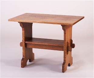 GUSTAV STICKLEY Early Bungalow table